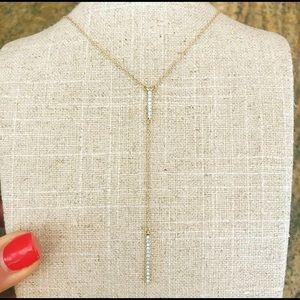 Jewelry - NWOT 14KT & DIAMOND necklace.